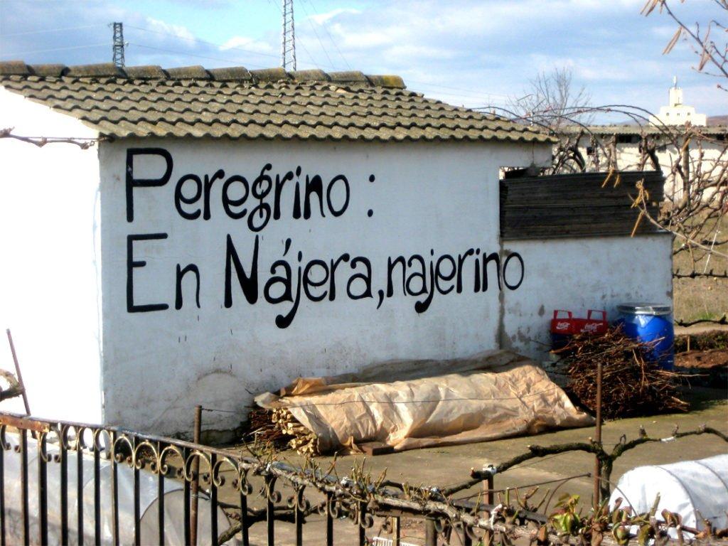 Peregrino: En Nájera, Nájerino