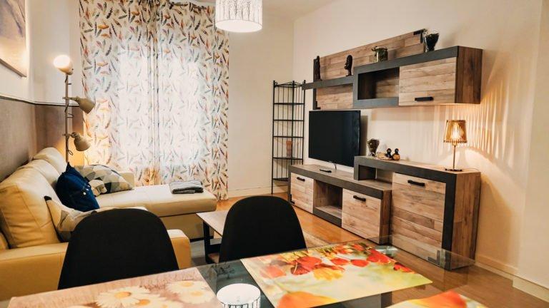 Sala de estar | Apartamento turístico Montaña