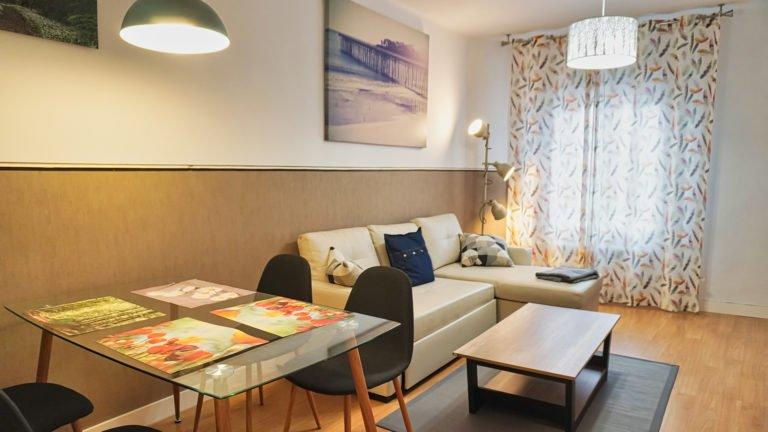 Detalle sala de estar | Apartamento turístico Montaña