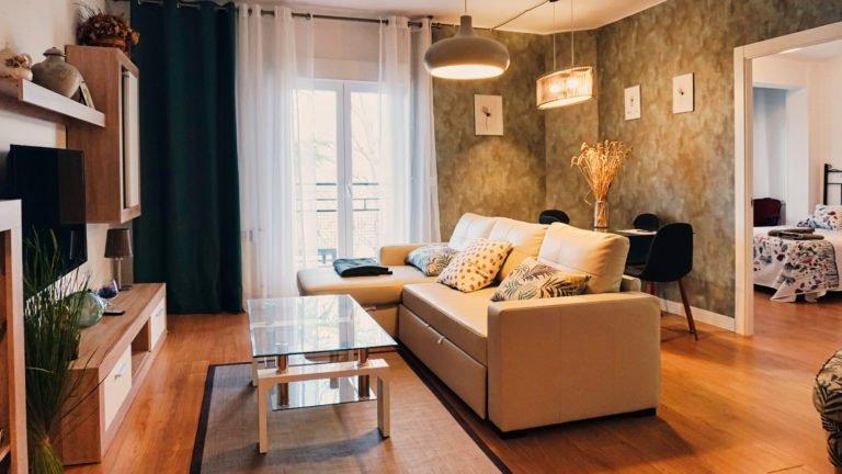 Salón principal Apartamento Río