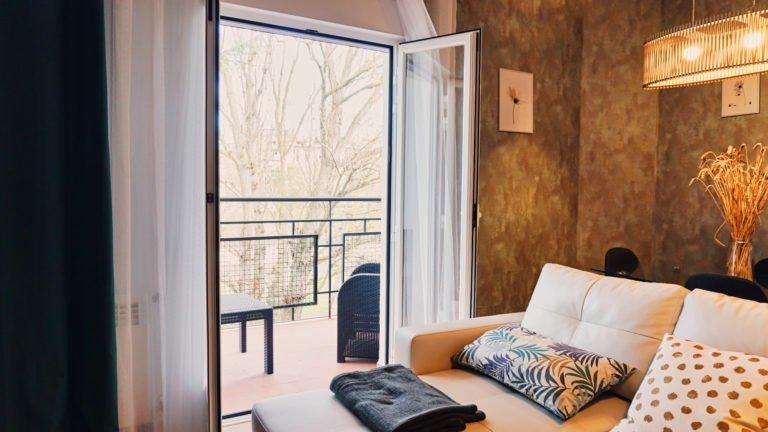 Acceso a la terraza | Apartamento Río