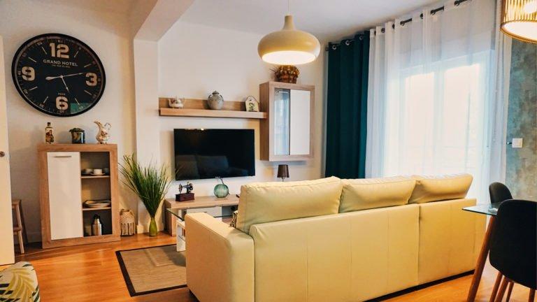 Vista de salón principal | Apartamento Río
