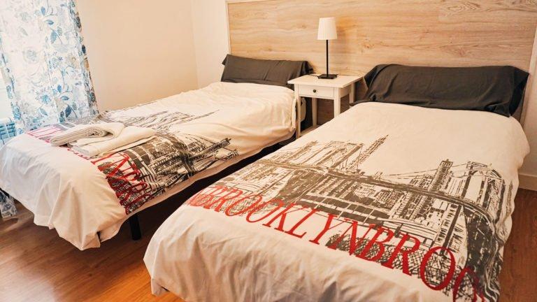 Dormitorio doble | Apartamento Río